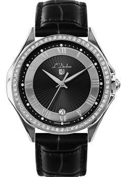 Швейцарские наручные  женские часы L Duchen D291.11.31. Коллекция Solo