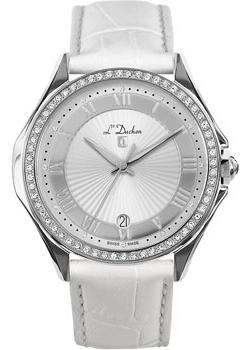 Швейцарские наручные  женские часы L Duchen D291.16.33. Коллекция Solo