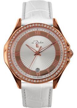 Швейцарские наручные  женские часы L Duchen D291.46.33. Коллекция Solo