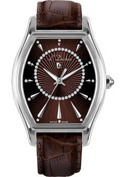Швейцарские наручные  женские часы L Duchen D401.12.38. Коллекция Derfection