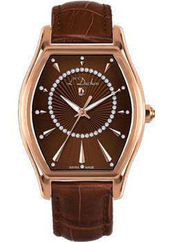 Швейцарские наручные  женские часы L Duchen D401.42.38. Коллекция Derfection