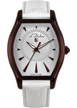 Швейцарские наручные  женские часы L Duchen D401.62.33. Коллекция Derfection