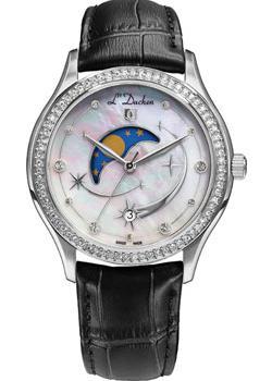 Швейцарские наручные  женские часы L Duchen D707.11.43. Коллекция Persides