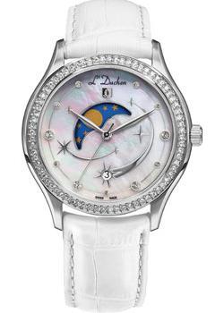 Швейцарские наручные  женские часы L Duchen D707.16.43. Коллекция Persides