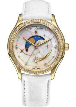 Швейцарские наручные  женские часы L Duchen D707.26.43. Коллекция Persides