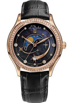 Швейцарские наручные  женские часы L Duchen D707.41.41. Коллекция Persides