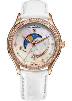 Швейцарские наручные  женские часы L Duchen D707.46.43. Коллекция Persides