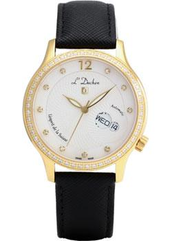 Швейцарские наручные  женские часы L Duchen D713.21.33. Коллекция La Coquille