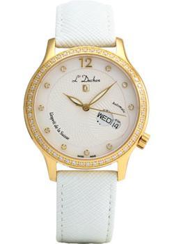 Швейцарские наручные  женские часы L Duchen D713.26.33. Коллекция La Coquille