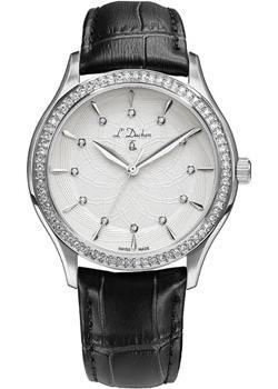 Швейцарские наручные  женские часы L Duchen D721.11.33. Коллекция Treillage