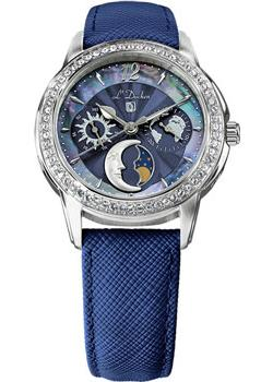 Швейцарские наручные  женские часы L Duchen D737.13.37. Коллекция La Celeste