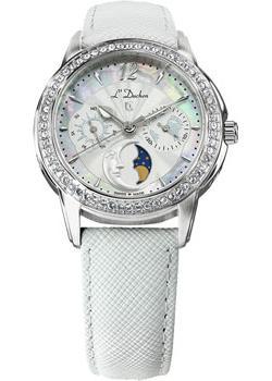 Швейцарские наручные  женские часы L Duchen D737.16.33. Коллекция La Celeste