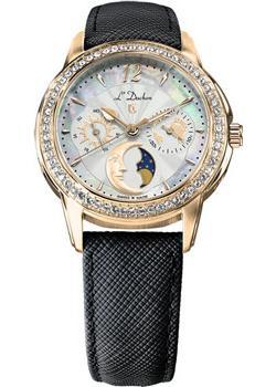 Швейцарские наручные  женские часы L Duchen D737.21.33. Коллекция La Celeste