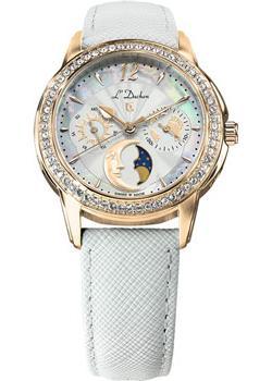 Швейцарские наручные  женские часы L Duchen D737.26.33. Коллекция La Celeste