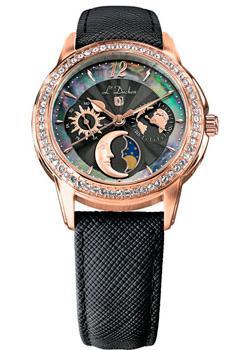 Швейцарские наручные  женские часы L Duchen D737.41.31. Коллекция La Celeste