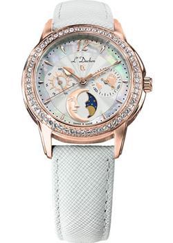 Швейцарские наручные  женские часы L Duchen D737.46.33. Коллекция La Celeste