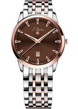 Швейцарские наручные мужские часы L Duchen D751.40.38. Коллекция Collection 751