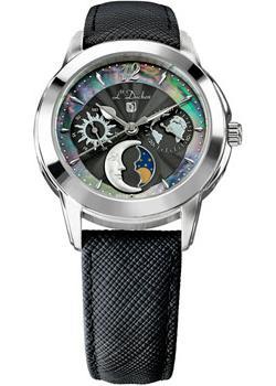 Швейцарские наручные  женские часы L Duchen D777.11.31. Коллекция La Celeste