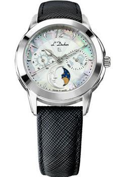 Швейцарские наручные  женские часы L Duchen D777.11.33. Коллекция La Celeste