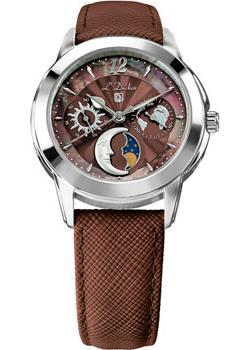 Швейцарские наручные  женские часы L Duchen D777.12.38. Коллекция La Celeste