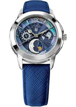 Швейцарские наручные  женские часы L Duchen D777.13.37. Коллекция La Celeste