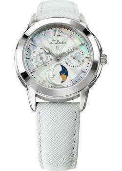 Швейцарские наручные  женские часы L Duchen D777.16.33. Коллекция La Celeste