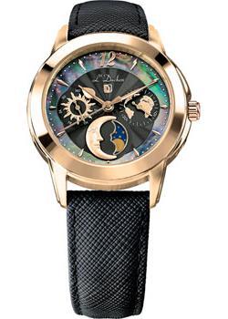 Швейцарские наручные  женские часы L Duchen D777.21.31. Коллекция La Celeste