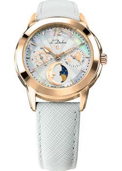 Швейцарские наручные  женские часы L Duchen D777.26.33. Коллекция La Celeste