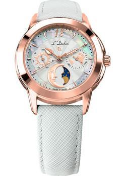 Швейцарские наручные  женские часы L Duchen D777.46.33. Коллекция La Celeste