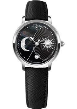 Швейцарские наручные  женские часы L Duchen D781.11.31. Коллекция La Celeste