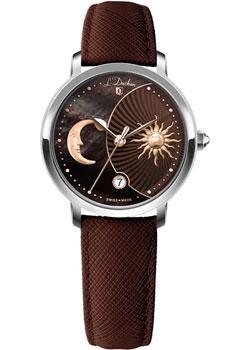Швейцарские наручные  женские часы L Duchen D781.12.38. Коллекция La Celeste