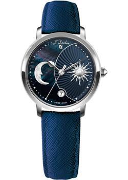 Швейцарские наручные  женские часы L Duchen D781.13.37. Коллекция La Celeste