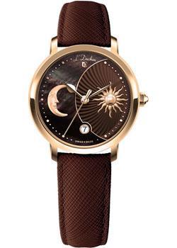 Швейцарские наручные  женские часы L Duchen D781.22.38. Коллекция La Celeste