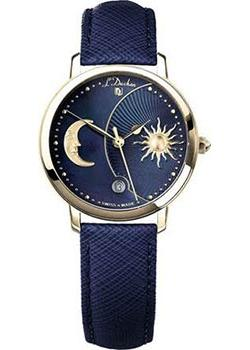 Швейцарские наручные  женские часы L Duchen D781.23.37. Коллекция La Celeste