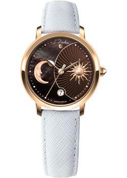Швейцарские наручные  женские часы L Duchen D781.26.38. Коллекция La Celeste