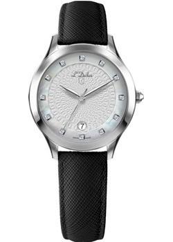 Швейцарские наручные  женские часы L Duchen D791.11.33. Коллекция Collection 791