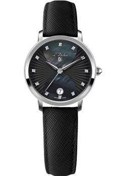 Швейцарские наручные  женские часы L Duchen D801.11.31. Коллекция Collection 801