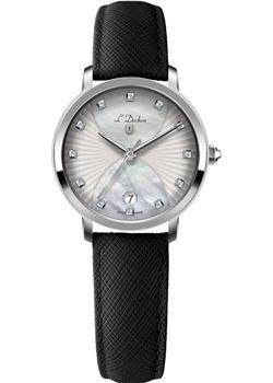 Швейцарские наручные  женские часы L Duchen D801.11.33. Коллекция Collection 801