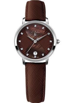 Швейцарские наручные  женские часы L Duchen D801.12.38. Коллекция Collection 801