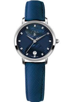 Швейцарские наручные  женские часы L Duchen D801.13.37. Коллекция Collection 801