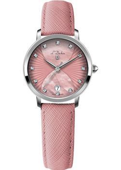 Швейцарские наручные  женские часы L Duchen D801.15.35. Коллекция Collection 801