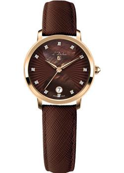 Швейцарские наручные  женские часы L Duchen D801.22.38. Коллекция Collection 801