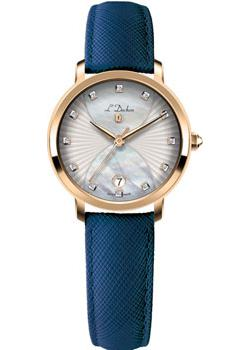 Швейцарские наручные  женские часы L Duchen D801.23.33. Коллекция Collection 801