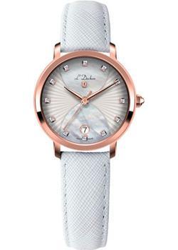 Швейцарские наручные  женские часы L Duchen D801.46.33. Коллекция Collection 801