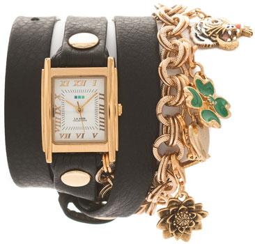 fashion наручные  женские часы La Mer LMCHARM001B. Коллекци С цепочками и подвесками
