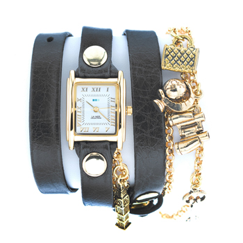 fashion наручные  женские часы La Mer LMCW1004. Коллекция С цепочками и подвесками