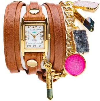 fashion наручные женские часы La Mer LMDRUZYCW003. Коллекция С цепочками и подвесками