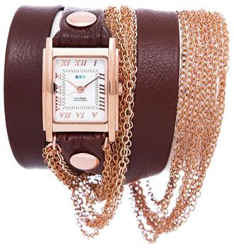 fashion наручные  женские часы La Mer LMDUO1002. Коллекция С цепочками и подвесками