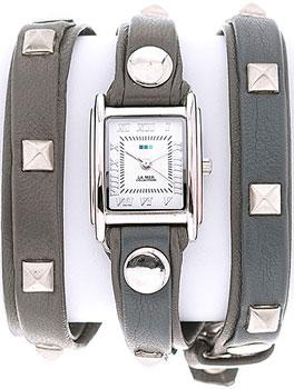 fashion наручные  женские часы La Mer LMLW1010DX. Коллекци С клепками
