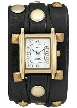 fashion наручные  женские часы La Mer LMLW1010J. Коллекция С клепками
